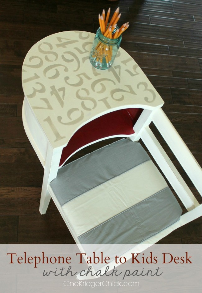 Antique-Telephone-Table-Makeover-using-chalk-paint...easy-as-123-OneKriegerChick.com_