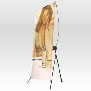 X Frame with Vinyl or Canvas banner