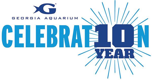 Georgia Aquarium 10 Year Celebration