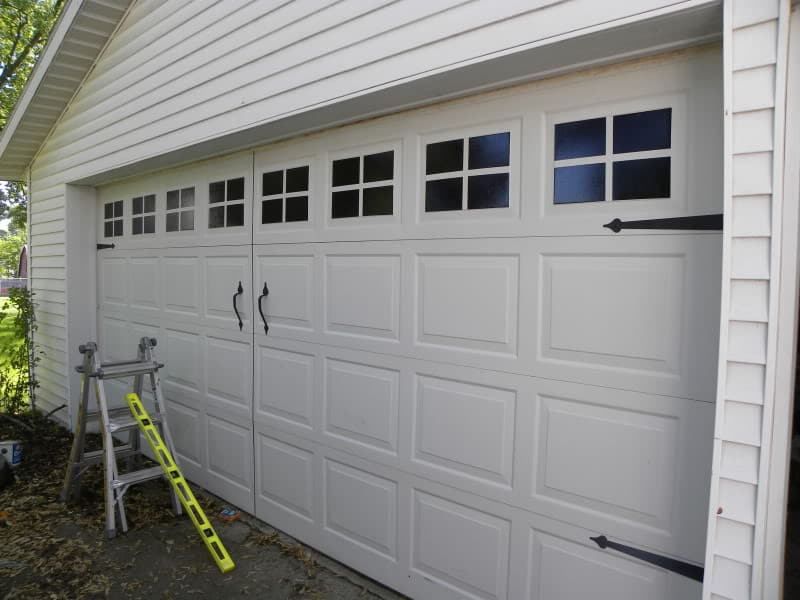 diy-faux-carriage-garage-door-tutorial DIY GATE HARDWARE TUTORIAL GIVEAWAY