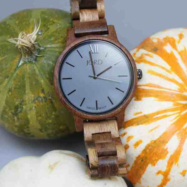 LOVIN' MY NEW JORD WOOD WATCH!