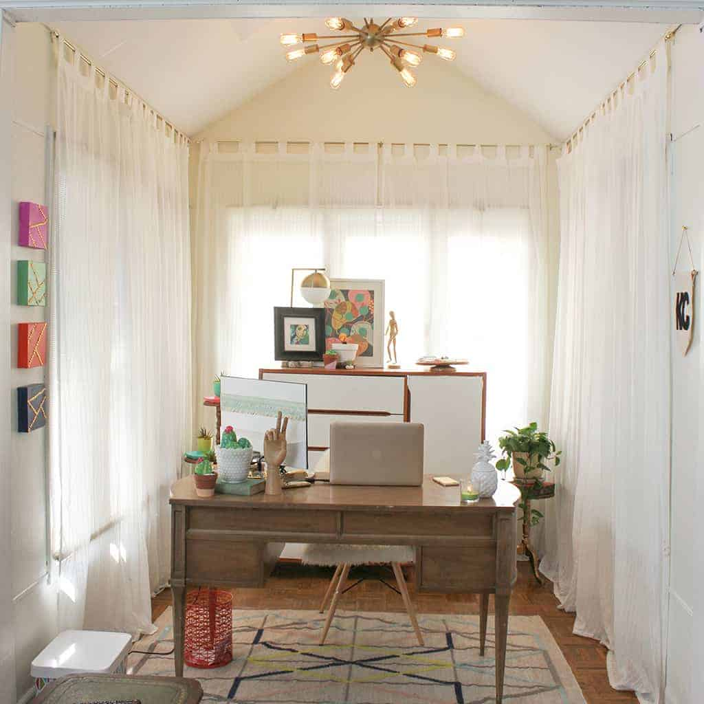 HOME TOUR  //  MY HOME OFFICE NOOK