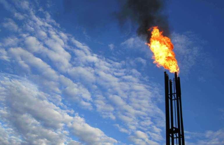 oilfield flare