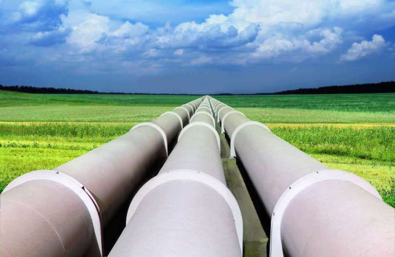 pipeline-in-green-field