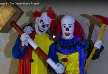 Funny Clown Prank