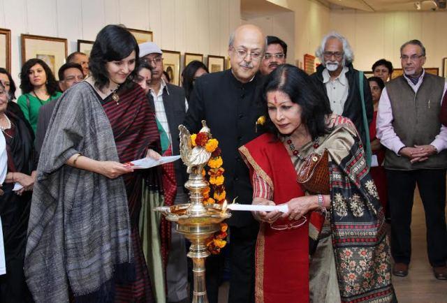kala Vithi Exhibition at lalit kala academy