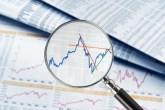 examining stock charts