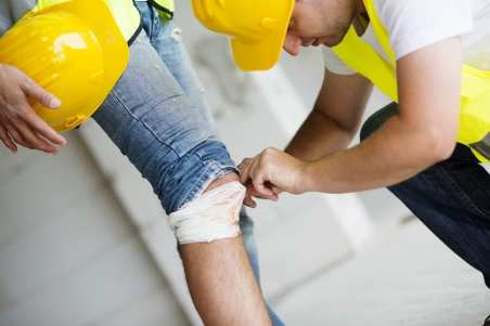 construction accident personal injury