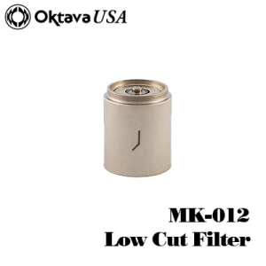 MK-012 Low Cut Filter Silver