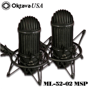 ML-52-02 Stereo Pair Ribbon Mic