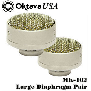 MK-102 Stereo matched capsules