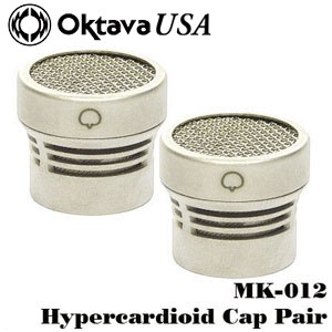 Hypercardioid Stereo Pair Capsules Silver