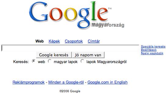Google hiba: Magyar-magyarország