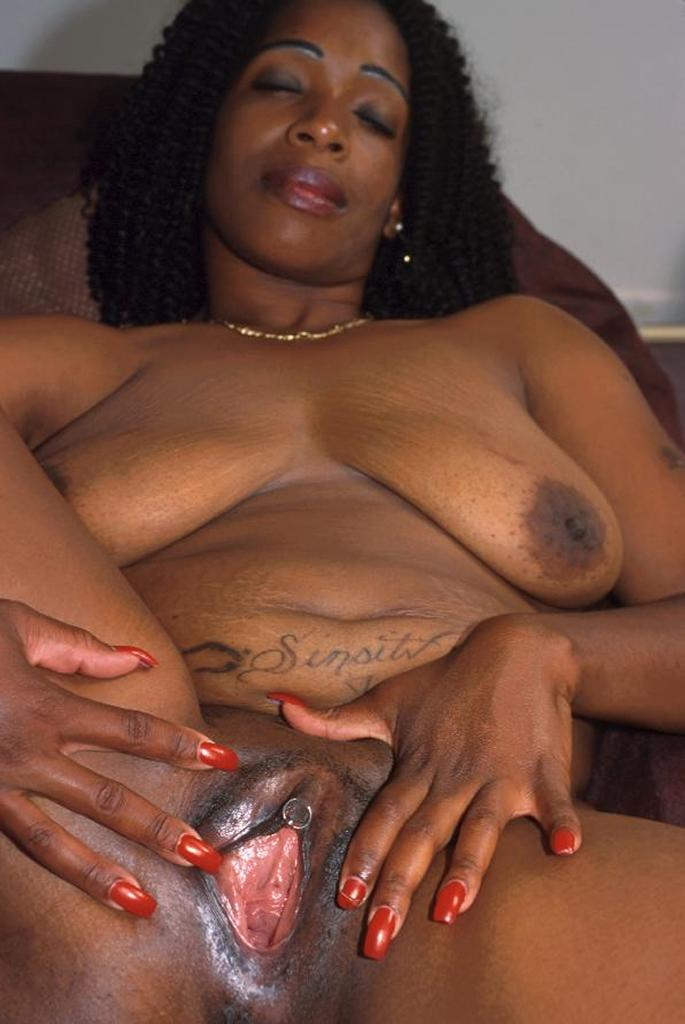 Mature black pussy sex can