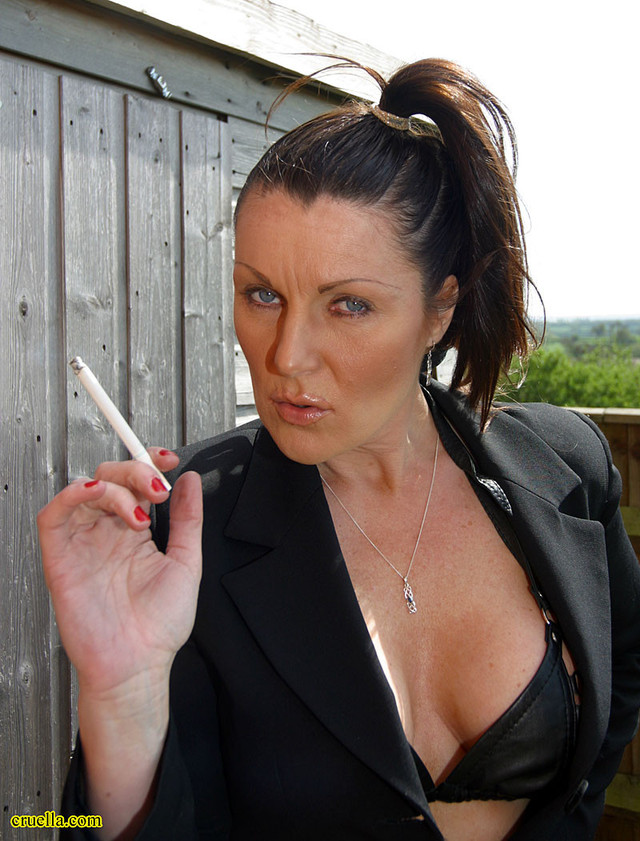 2 les femdom smoking girls special selection for smoker58 5