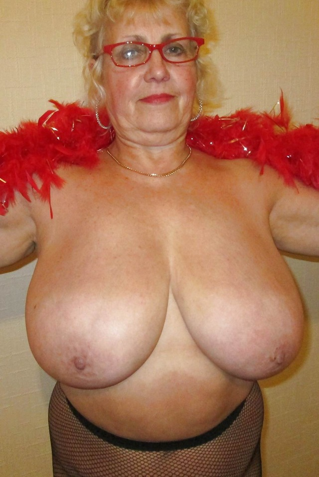 old grandmother tits