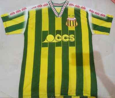Sampaio Correa FC Home football shirt 1998.