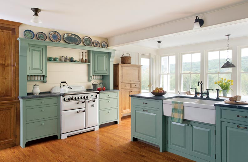 Fullsize Of Country Kitchen Picture