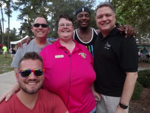 Raynae with a contingent of Atlanta Pride organizers