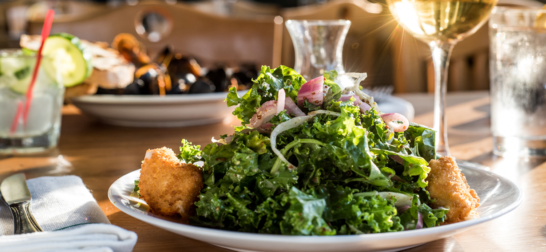 Old-Mill-Inn-Mattituck-Kale-Salad