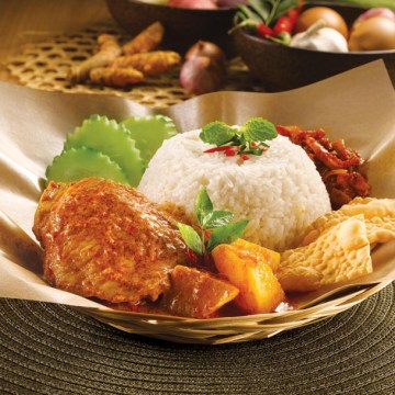 OLDTOWN Curry Chicken Rice(Rp46)