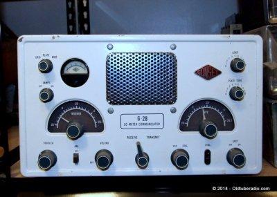 Gonset G-28 10 Meter Communicator | The Old Tube Radio Archives