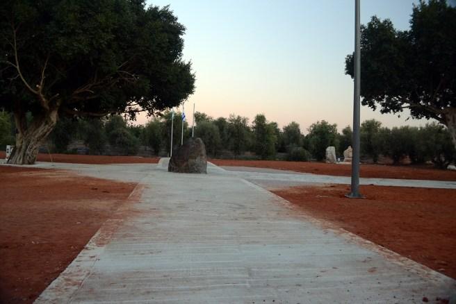 Те самые бетонированные дорожки