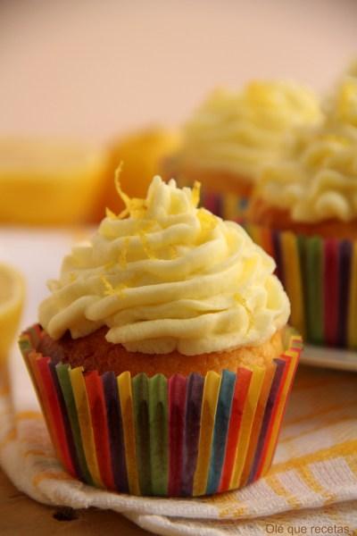 cupcakes con limón
