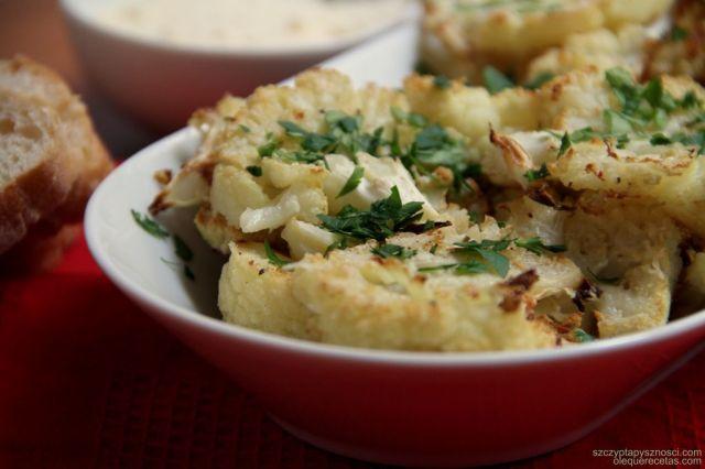 coliflor con parmesano