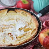 Apple Dutch Baby (Or German Apple Pancake)