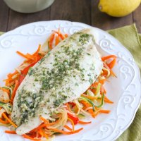 Fish and Vegetables En Papillote