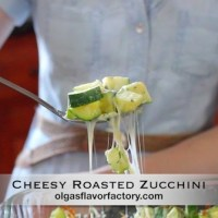 Cheesy Roasted Zucchini Video