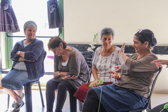 French Immigrant seniors join activities at OlimBeGil