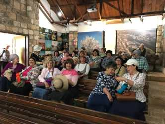 new olim seniors visit the Hula valley