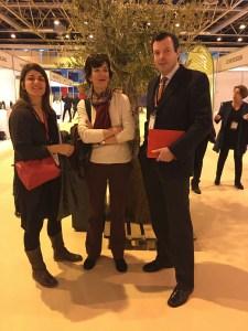 Cécile Le Galliard, Paz Figares et Tanguy Paris