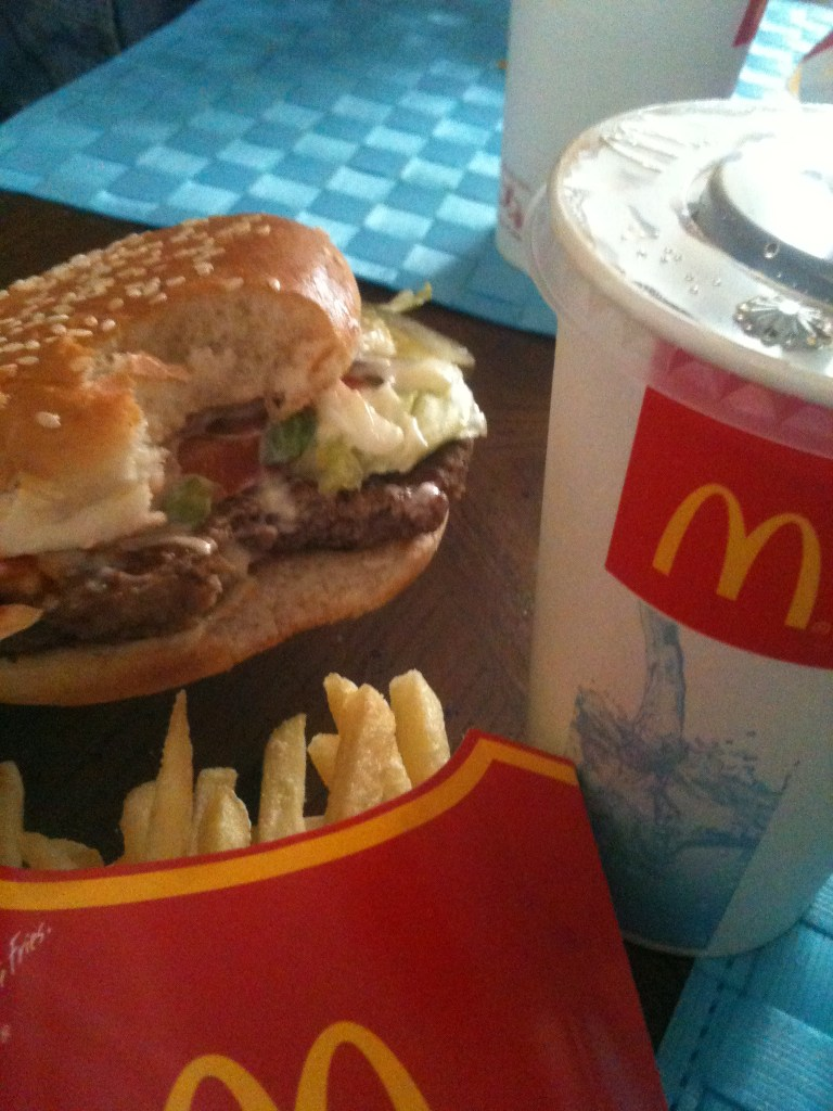 The McWhopper…