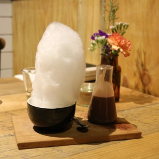 Hash Specialty Coffee & Roasters - Signature hot chocolate w fairy floss
