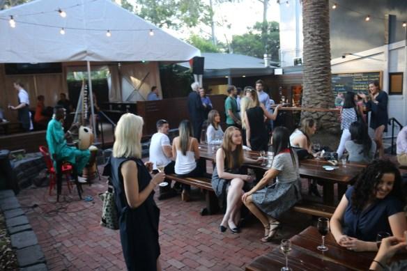 The Flying Duck Hotel - Beer garden