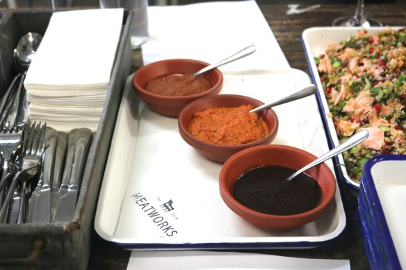 Meatworks - Homemade sauces (tomato, chilli, bbq)
