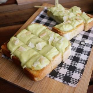 Kwan's Table - Pandan custard toast