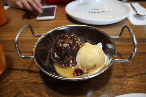 Hawker Hall - Red sticky date pudding