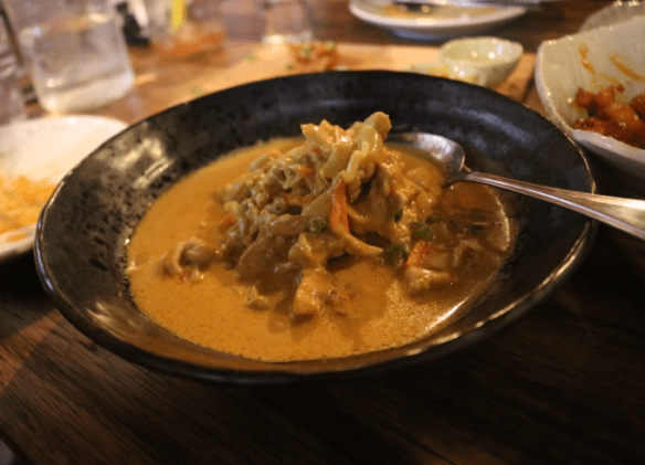Shimbu - Coconut chicken curry