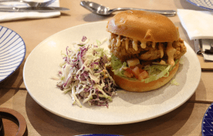 Jack B Nimble - Southern fried chicken burger