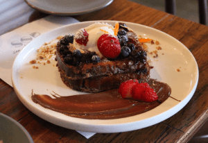 Son of a pizzaiolo - Nutella french toast