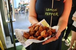 Wings of glory - lemon pepper