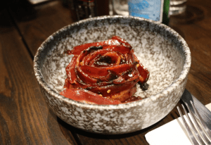 Third Wave Cafe - bacon rose