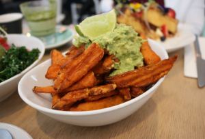 Trei cafe - sweet potato fries