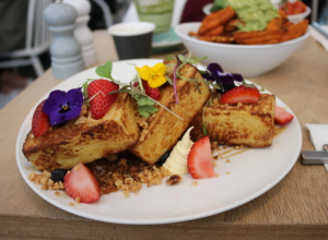 Trei cafe - French toast