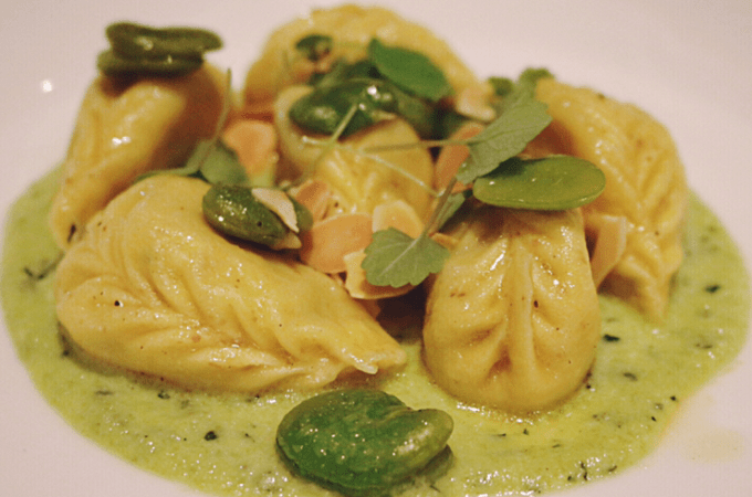 Lello pasta bar - Potato & mint dumplings
