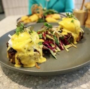 Northcote STN - Eggs benedict